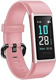 AIKELA Smart Watch, IP68 Waterproof Fitness Tracker 12 Sports Mode Activity Tracker with Heart Rate Sleep Moni