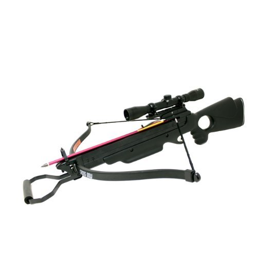 150-Lbs-Wizard-Hunting-Crossbow-4x32-Scope-Package-with-8-Arrows