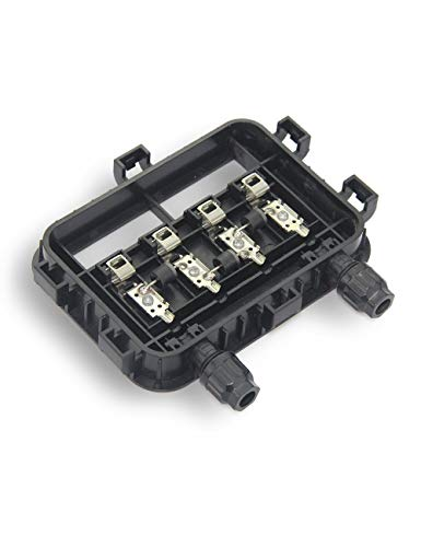VIKOCELL 12A 3 Diodes Solar Junction Box IP65 PV Connector for Solar Panel 180W to 250W (5pcs)