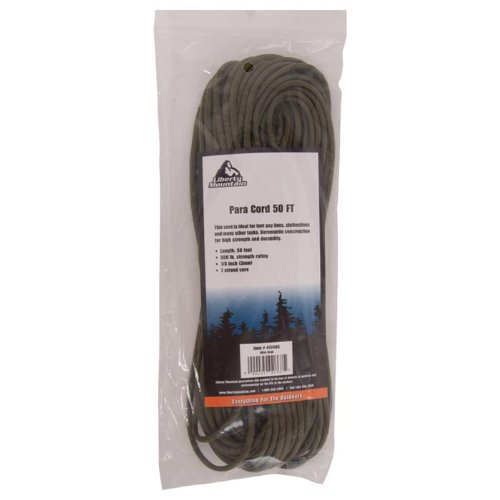 Liberty Mountain Paracord, Olive Drab, 50-Feet by Liberty Mountain (Image #1)