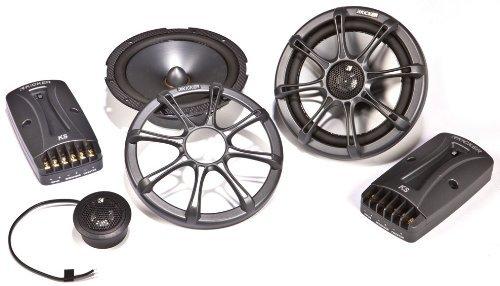 NEW KICKER KS65.2 6.5'' 150W 2-Way KS Series Car Audio Component Speaker System