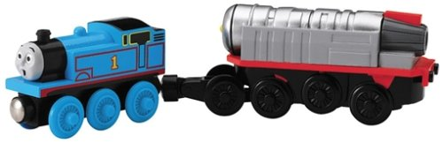 Thomas and Friends Wooden Railway - Battery Powered Jet Engine With Thomas (Thomas Jet Engine)