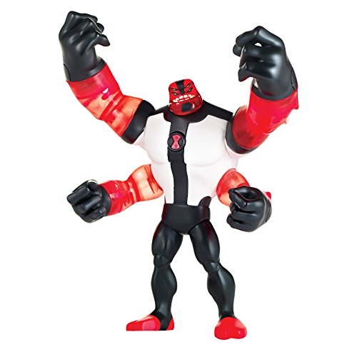 (Ben 10 Power Up Four Arms Deluxe Action Figure)