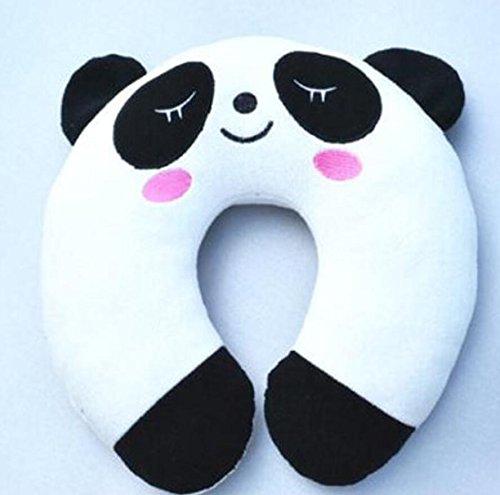 Linyena - Cojín de viaje suave con diseño de panda para el ...