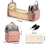 Diaper Bag with Changing Station, Travel Foldable