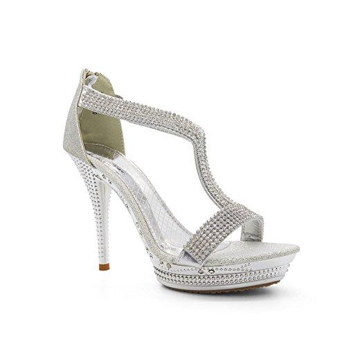 Argent London Semelle Footwear femme argent compensée qw8fHwI7