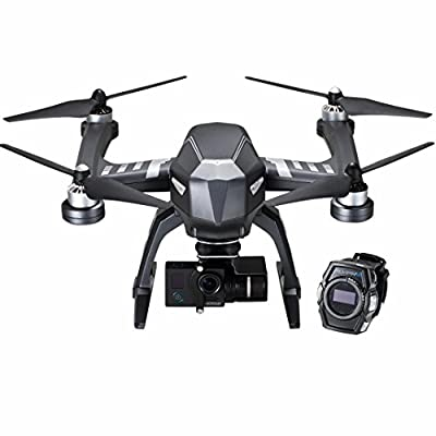 FLYPRO XEagle FPV Sports Drone 4K Ultra HD Sports Camera 1080P the Action Helicopter Airplane with Hands-Free XWatch Controls-Shoot Your Action in Epic Clarity and Detail from Becoler