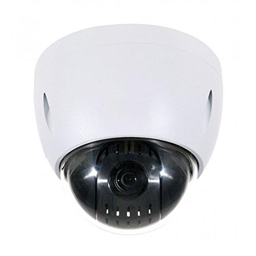 Weatherproof Indoor Outdoor 12X Elite OEM HD Starlight Color Night Vision IR PTZ 1080p 2MP Ceiling Mount Vandal Proof Motorized Pan Tilt Zoom Camera w/ built in SD Memory Card Slot Alarm in Feature by SecurityCameraKing