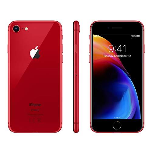 Apple iPhone 8, GSM Unlocked, 64GB - Red (Refurbished)