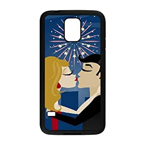 YCHZH Phone case Of Love Kiss Cover Case For Samsung Galaxy S5 i9600
