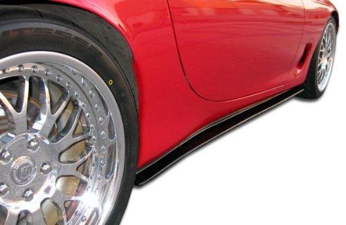 1993-1997 Mazda RX-7 Duraflex Type F Side Skirts Rocker Panels - 2 (Racing Types Side Skirts)