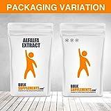 Organic Alfalfa Powder by Bulksupplements