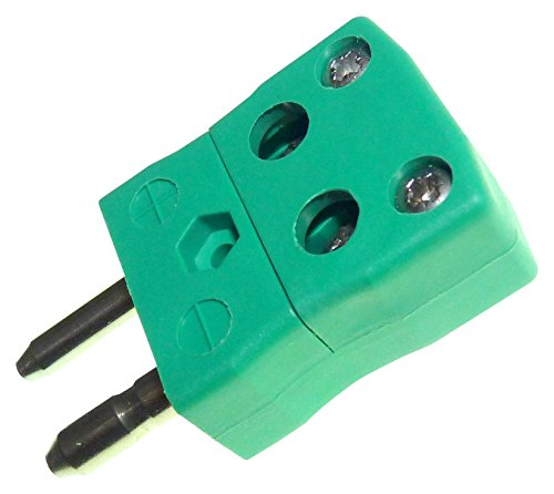 (IS-K-MQ - PLUG, STANDARD, QUICKWIRE, T/C TYPE K (IS-K-MQ) (Pack of 5))