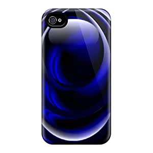 Brand New 4/4s Defender Case For Iphone (true Blue)