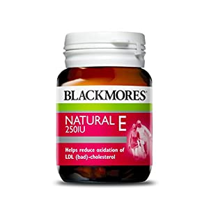 Blackmores Natural Vitamin E 250IU 50 Capsules