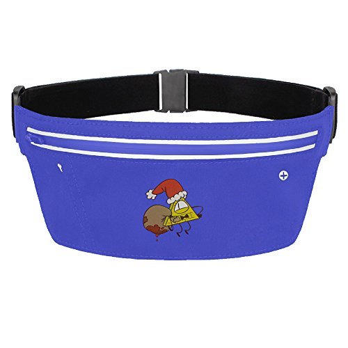 CGHNG Outdoor Bumbag GRAVITY FALLS Christmas Mini Dumpling Waist Bag Packs Fanny Packs For Women Man Outdoors Workout - Great For Running Hiking Travel Sport Fishing