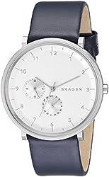 Skagen Men's SKW6169 Hald Analog Display Analog Quartz Blue Watch