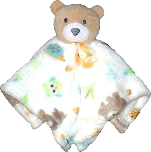 Soft Plush Blanket Pal Lovey - Embroidery Available (Teddy (Bear Security Blanket Plush)