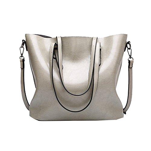 Damen Handtasche Elegant Taschen Shopper Reissverschluss