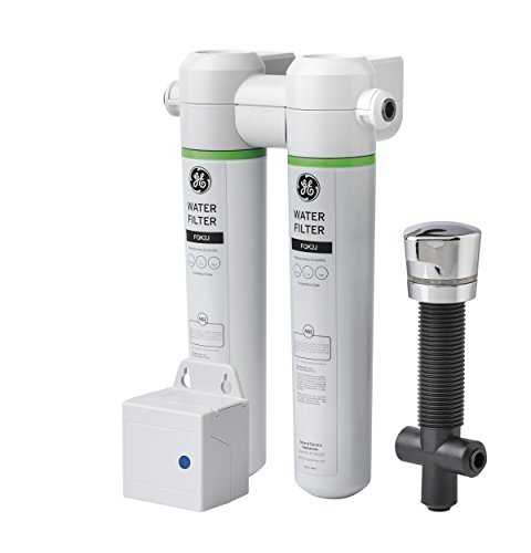 Dual Filter Drinking Water System - GE GXK285JBL Twist And Lock Under Counter Dual Flow Water Filtration System