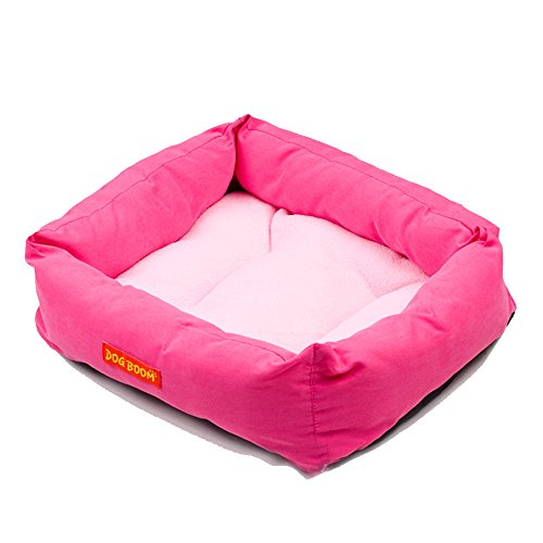 Glumes Pet New Rectangle Pet Bed Solid Color,Resistant Bite Removable & Washable Soft Pet Mat Dog House Small Medium Large Pet Animal Small Dog Bed Ideal