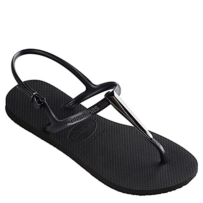 Scarpe E Borse Da Donna Sandali Havaianas Freedom Sl Maxi Sandal Black