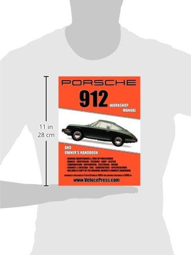 porsche 912 workshop manual 1965 1968 floyd clymer 9781588501011 rh amazon com porsche 912 shop manual porsche 912 service manual