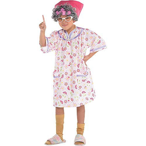 100 Year Old Halloween Costumes - Amscan Little Old Lady Costume -