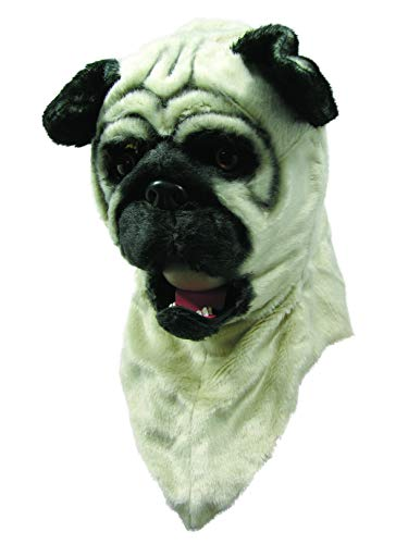 Forum Novelties Moving Mouth Adult Mask, Bull Dog -