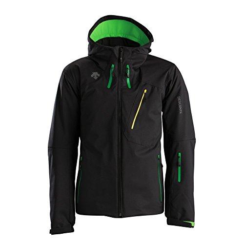 Descente McCoy Jacket Carbon Black/Green XXL