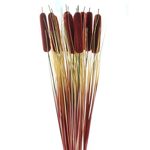 Factory Direct Craft Package of 12 Artificial Cattail Sprays