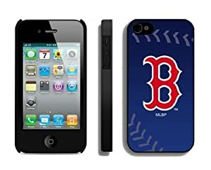 Designer Apple iPhone 5 5s Case MLB Boston Red Sox Personalized iPhone 5 5s Cellphone Proective Cover