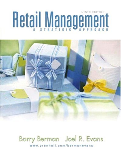 Retail Management A strategic Approach
