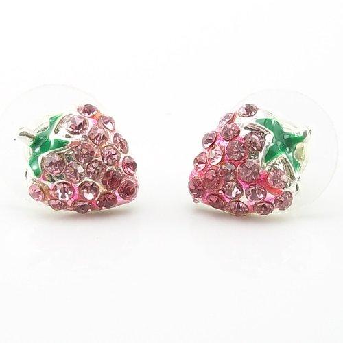 DaisyJewel Bling Berry Stud Earrings
