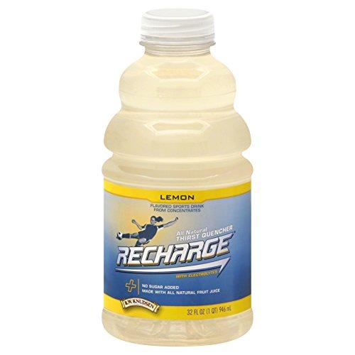 Lemon Recharge (R.W. Knudsen Recharge Lemon Flavored Sports Beverage, 32 oz)