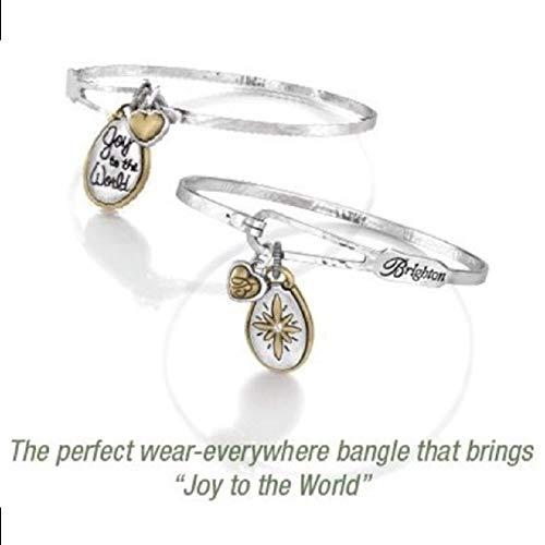 (Brighton Joy to World Bracelet Bangle-Silver - Star)