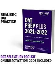 DAT Self-Study Toolkit 2021–2022: DAT Prep Plus Book + 4 Practice Tests + Qbank