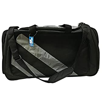 c50a86f25e219 Amazon.com | Funk Fighter Odorless XL Gym Bag Black and Gray ...