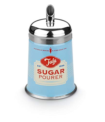 Tala Sugar Pourer, Blue/Silver/Red/Yellow