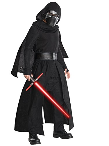 Star Wars Men's Episode Vii: the Force Awakens Deluxe Kylo Ren Costume, Multi, Standard -
