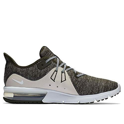 Nike Air Max Sequent 3 Mens Running Trainers 921694 Sneakers Shoes (UK 6 US 7 EU 40, Sequoia Summit White 300) by Nike (Image #2)