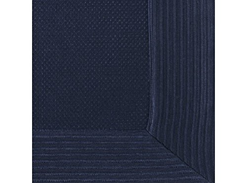 Peacock Alley Angelina Matelasse Shams in Navy Color (King Sham)