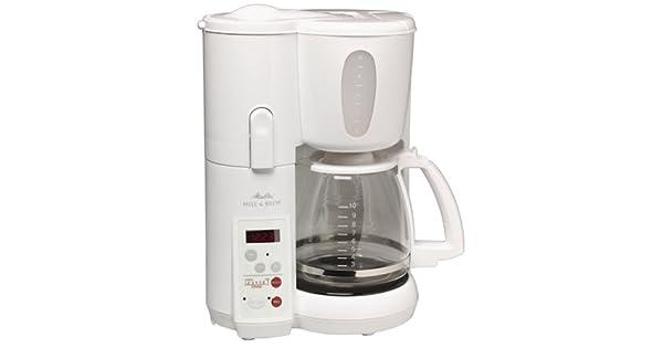 Amazon.com: Melitta memb1 Molino & Brew Cafetera, Blanco ...