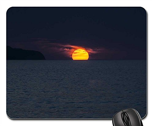 Mouse Pad - Sunset Ocean Azores Portugal Sol S?o - Portugal Sol
