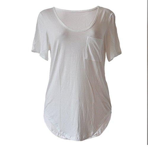 Sumtory-Women-Plus-Size-Short-Sleeve-V-Neck-Loose-Top-Shirt