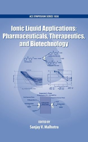 Ionic Liquid Applications: Pharmaceuticals, Therapeutics, and Biotechnology (ACS Symposium Series) (Ionic Liquid Applications Pharmaceuticals Therapeutics And Biotechnology)