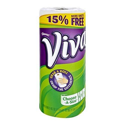 Viva Choose A Sheet Big Paper Towel Roll, 102 Count per Pack - 24 per case.