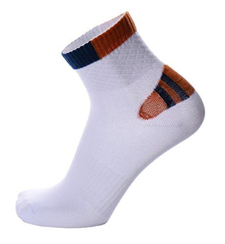 Sock Hop Ideas (Women's Crew Running Socks White)