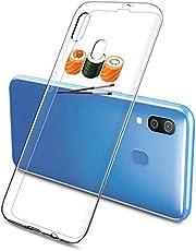 Oihxse Funda Samsung Galaxy A720/A7 2017, Ultra Delgado Transparente TPU Silicona Case Suave Claro Elegante Creativa Patrón Bumper Carcasa Anti-Arañazos Anti-Choque Protección Caso Cover (A13)