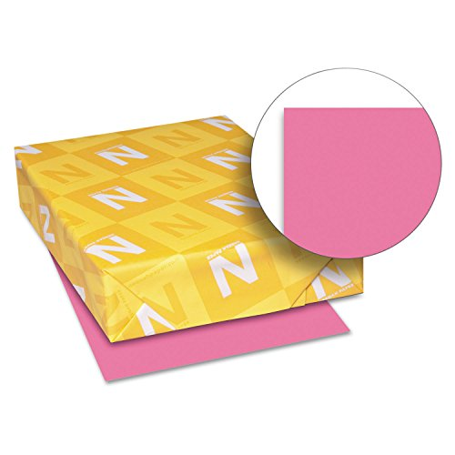 Astrobright Pink Letter Inkjet Paper (WAU22119 - Neenah Paper Astrobrights Colored Paper)